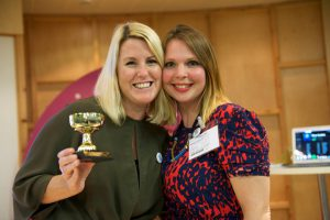 2017 winners Kirsty Marrins and Mandy Johnson