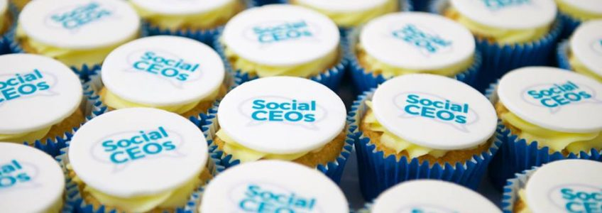 Fairy cakes with Social CEOs toppers